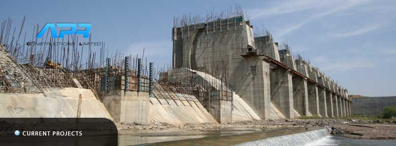 Construction of Spillway of Lower Wardha Project at Dhanodi, Wardha Dist. Maharastra